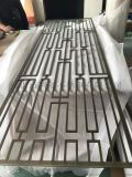 佛山歐式別墅不鏽鋼屏風/鐳射鏤空不鏽鋼隔斷設計定製