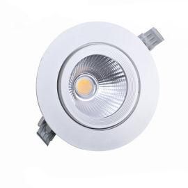 嵌入式cob筒灯 可调焦射灯 牛眼聚光灯