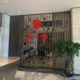 酒店不锈钢屏风厂家定制装饰屏风工程建材