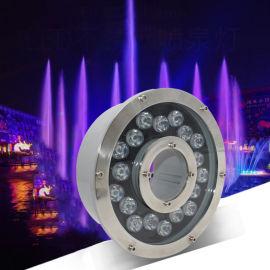 led喷泉灯水底灯 水下水池灯现代防水水下射灯