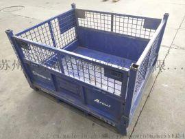 苏州金属网箱厂家 可折叠金属周转网箱