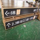 地下車庫停車場LED燈箱標識-指示提示牌,內容可定做