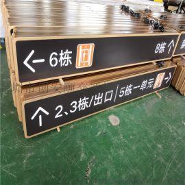 地下车库停车场LED灯箱标识-指示提示牌,内容可定做