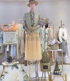 杭州品牌折扣女装朗斯莉长袖毛衣工厂直供货源