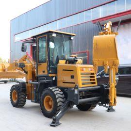 厂家直销 小型挖掘装载机 农用铲挖两头忙