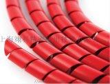 燃组性螺旋护套管 硅胶油管保护套 液压螺旋护