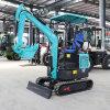 嶽工機械 挖溝用微挖機 果園施肥18小勾機
