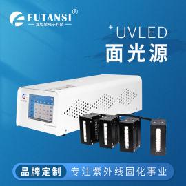 一拖四UVLED面光源固化机-50×50
