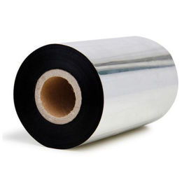 廠家直銷銅版紙吊牌合成紙不幹膠熱轉印條碼打印色帶
