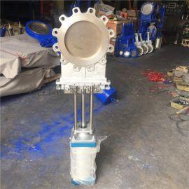 溫州廠家直銷氣動刀閘閥 304漿料閥 DN250