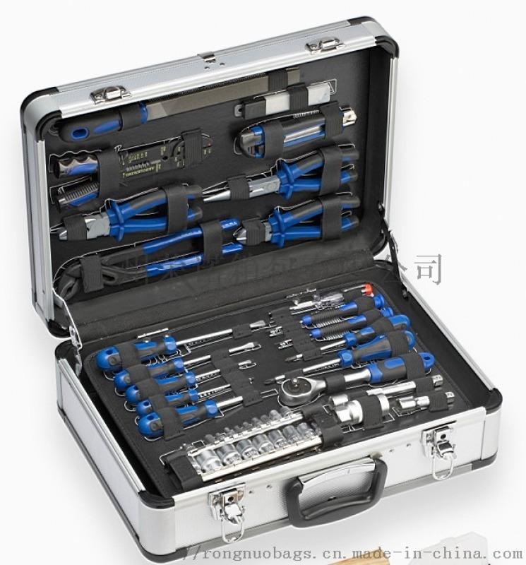 鋁合金手提 儀器表展示箱 密碼箱 五金收納工具箱