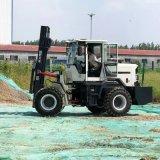 厂销3吨越野叉车 货物装卸搬运液压平衡重叉车