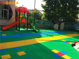 益阳市悬浮地板铺设 沅江市幼儿园室外悬浮拼装地板