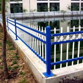 江鹤岗塑钢围墙护栏 pvc绿化围栏