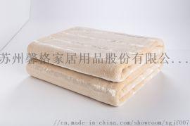 產自馨格家紡亮絲珊瑚絨毯