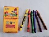 儿童绘画8色蜡笔多色彩绘蜡笔美术画笔套装学生