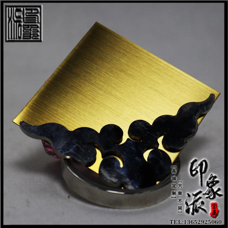 按樣生產304/201鍛紋鈦金不鏽鋼板