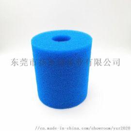 30PPI聚氨酯过滤棉10*4*20CM 同心圆柱过滤海绵