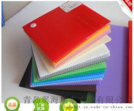 低价供应**商贸出口用于户外广告印刷塑料中空板材