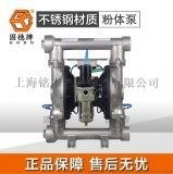 碳酸钙输送用QBF3-65PF不锈钢粉体泵