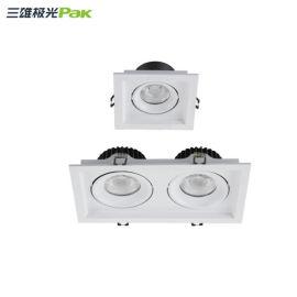 三雄PAK564360 2x18W星際雙頭格柵射燈