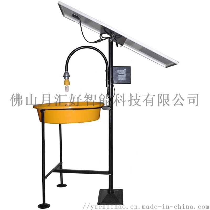 單燈水淹式太陽能殺蟲燈