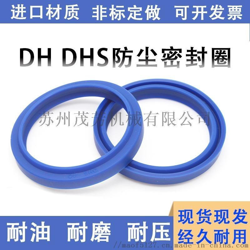 进口DHS防尘油封液压活塞密封件
