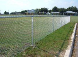 广州热镀锌勾花网菱形孔勾花网 包塑养殖网球场护栏网