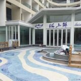 洗砂藝術地坪,聚合物礫石地坪,上海洗砂面地坪廠家