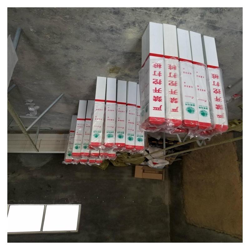 定製玻璃鋼警示柱 單柱式警示柱 霈凱環保