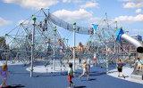 深圳儿童趣味爬网,幼儿园绳网攀爬游乐设施