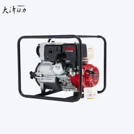防水抗洪4寸汽油水泵