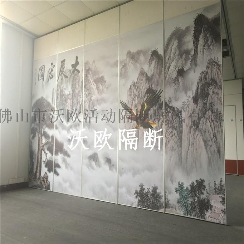 吕梁餐厅活动隔断墙屏风厂家