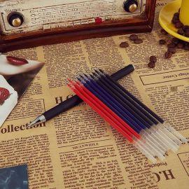 黑金笔文畅笔学生签字水笔中性笔芯跑江湖地摊热销新产品
