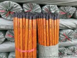 PVC coated wooden broomstick木质扫把杆