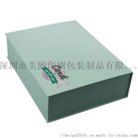 深圳包装厂定做硬纸板礼品盒手工盒 翻盖书型盒