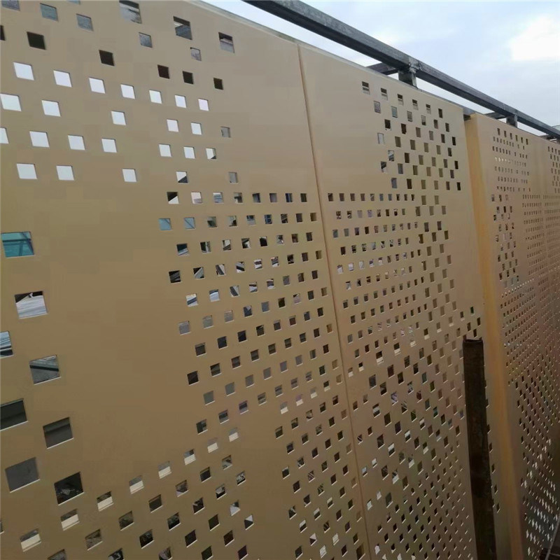 複式房麼造型鋁單板 躍式房包邊造型金屬鋁板定製