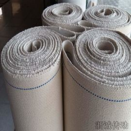 耐高温帆布输送带 全棉食品输送带