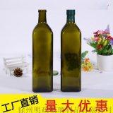 橄欖油瓶橄欖油玻璃瓶裝橄欖油的玻璃瓶