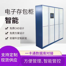 50门智能储物柜定制 北京刷卡型智能储物柜供应商
