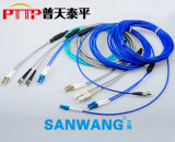 LC铠装光纤跳线 单模/多模光纤连接器