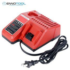适用12V~18V米沃奇工具电池充电器M12M18