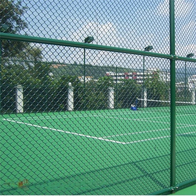 學校操場籃球場圍網 網球場圍欄網廠家 籃球場圍欄網