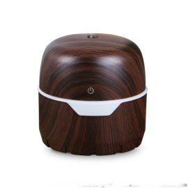 300ml深木纹礼品usb宝盒加湿器