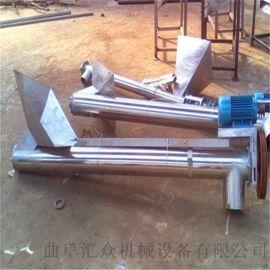 银川营养土螺旋提升机 3米不锈钢绞龙上料机Lj8