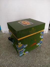 茶叶手工盒 定制手工盒