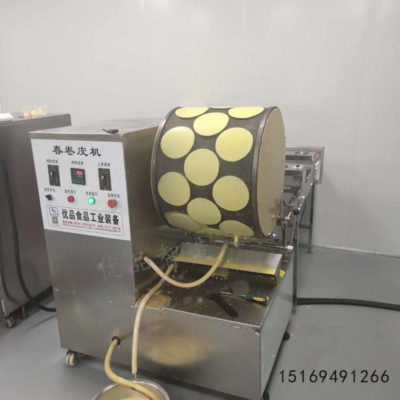 全自动蛋皮机、榴莲千层皮生产设备