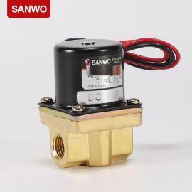 三和電磁閥SVX2003 直動型電磁閥 黃銅2通閥