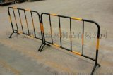 工地鐵馬護欄 黃黑鐵馬欄杆 道路臨時護欄
