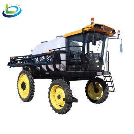 自走式四轮轮打药机高地隙柴油玉米打药机农用打药机